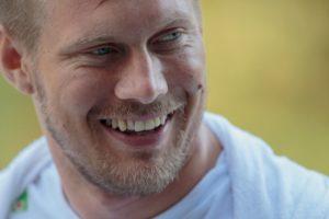 Nærbilde av Lars Ivar Eilerås, manager for landslaget i rullestolrugby.