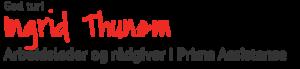Teksten «God tur» med signatur til Ingrid Thunem, arbeidsleder og rådgiver i Prima Assistanse.