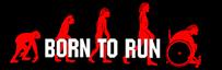 Logoen til organisasjonen Born to run.
