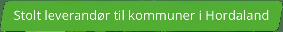 Stolt leverandør til kommuner i Hordaland
