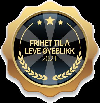 frihet til a leve oyeblikk 2021 badge